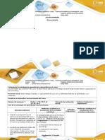 Guía de Actividades y Rúbrica de Evaluación - Reconocimiento