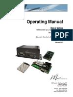Nano Series Operating Manual