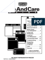 Use and Care Guide - 4390527