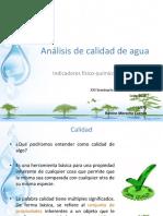 Analisis de Calidad de Agua I