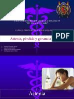 Astenia, Perdida y Ganancia de Peso 2