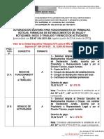 Tupa-requisitos Para Autorizaciones Sanitarias - 2014