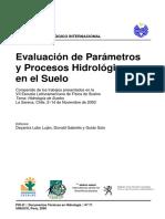 Procesos Hidrologicos en El Suelo