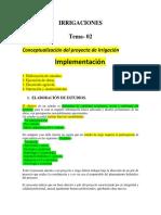La Irrigacion -DeSARROLLO Del Proyecto Word - Copia