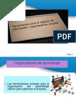 Organizadores Del Aprendizaje