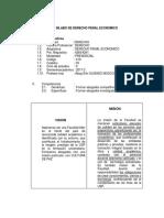Silabu Derecho Penal Economico 2017