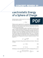 Electrostatic Energy of a Sphere of Charge