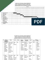 11. Tabel POA Dan Jadual Gandaraya