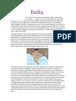 India Historia
