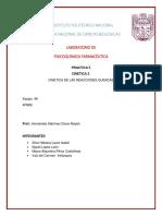 Fisicoquimica-cinetica PRACTICA NO.5