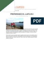 Preparando El Luatlon