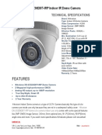 Specifications of Hikvision DS-2CE56D0T-IRP Dome Camera