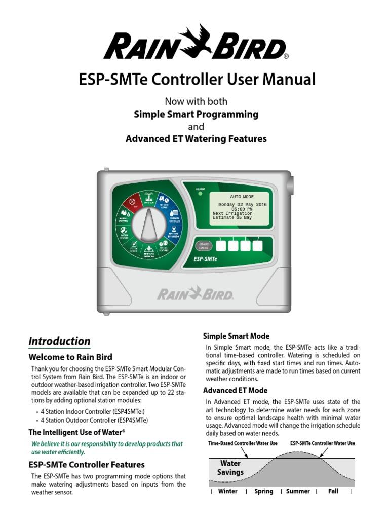 man_ESP-SMTe_EN | Irrigation | Electrical Wiring