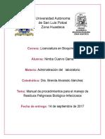 Cuervo Gama Nimbe ManualDeProcedimientos RPBI