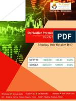 Derivative Premium Daily Journal-16th October 2017-Monday