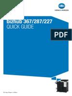 Bizhub 287 Service Guide