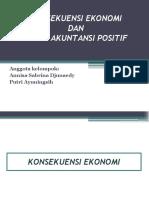 265979768 Konsekuensi Ekonomis Dan Teori Akuntansi Positif