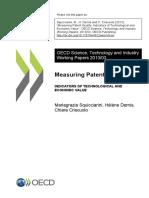 OECD Indicators of Technology and Economic Value