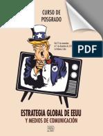 Curso Estrategia Global de Estados Unidos y Medios de Comunicación