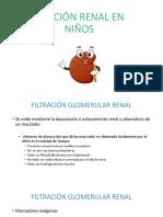 Función renal pediatría
