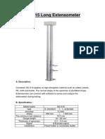 QC-515 Long Extensometer