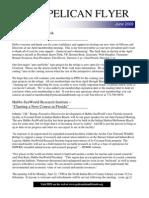 June 2009 Pelican Flyer Newsletter, Pelican Island Preservation Society