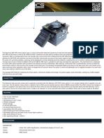 Fibre Optic Automatic Fusion Splicer