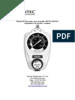 Regulador de Succión- 882VR GENTEC- Manual de Uso- Rev 1- Mar-11