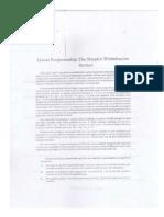 Quantitative Techniques Handout given by Dr. Ralph Sabio