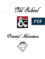 5e Old School and Oriental Adventures (11985259)
