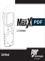 GasAlertMaxXT II User Manual 129541_EN_B