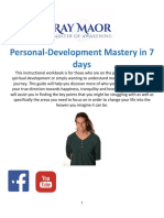 Ray Maor Self Development Workbook