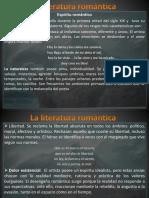 La Literatura Romántica
