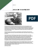 Olahraga - Sejarah Basket