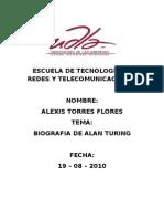 Biografia de Alan Turing at.