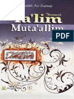 Talimal Mutaallim Tariqat Ta Allam Indonesia
