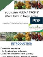 Presentation Budidaya Kurma UPG