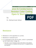 Resistance-Conductance-Resistor-Color-CodingOpen-Short-Circuits.ppt