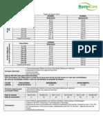 Tabela de Preço Italica - Individual e Familiar