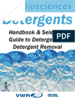 Guide to Detergents and Removal Properties