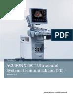 Schallkopfkatalog Ultraschallgeraet X300 PE