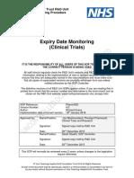 Expiry Date Monitoring