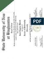 jmarsh phd diploma