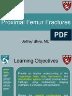 Proximal femur fractures