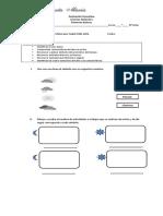 Evaluación Formativa El Dia y Las Estaciones