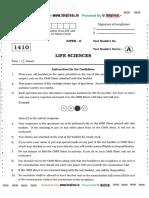Life Sciences Sample Paper II