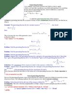 Generating Functions+1