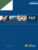 Broschuere MA International Health Social Management
