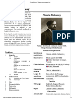 Claude Debussy - Wikipedia, La Enciclopedia Libre