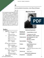 Maurice Ravel - Wikipedia, La Enciclopedia Libre